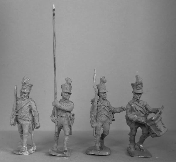 Deutsch-Österreichische Linieninfanterie - Command Set (1813 - 1815)