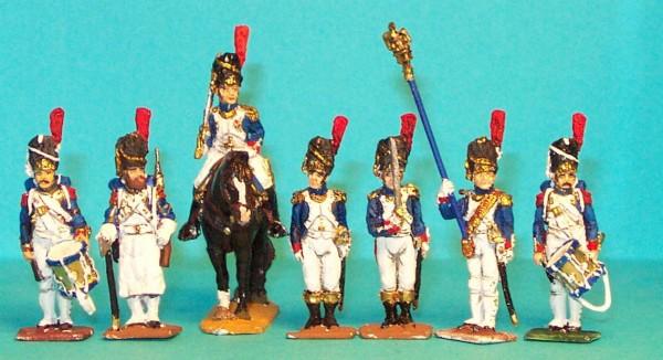 Französische Alte Garde - Command Set