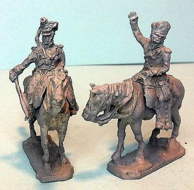 Preußische Kavallerie-Offiziere (1813 - 1815)