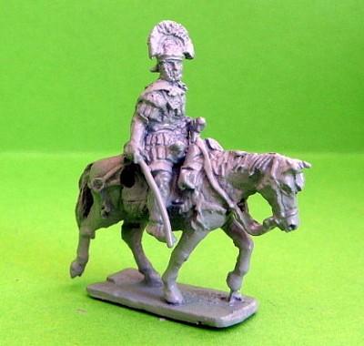 Römischer Centurio (zu Pferd, trottend)