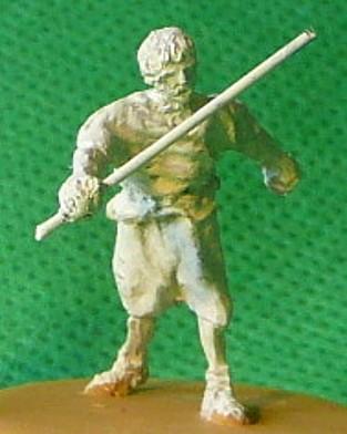 Römischer Gladiatorenkampf - Schiedsrichter
