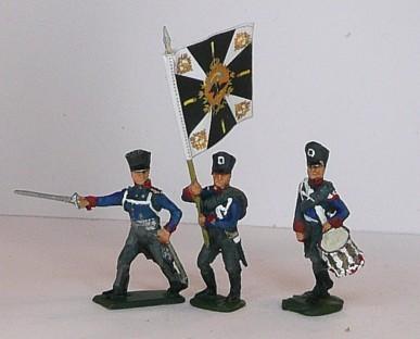 Preußische Linieninfanterie - Comand Set (1813 - 1815)