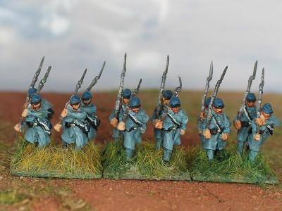 U.S./C.S.A.-Infanterie (1861 - 1865)