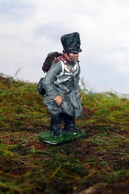 """Preußischer Soldat """"beim Großen Geschäft"""" (1808 - 1815)"""