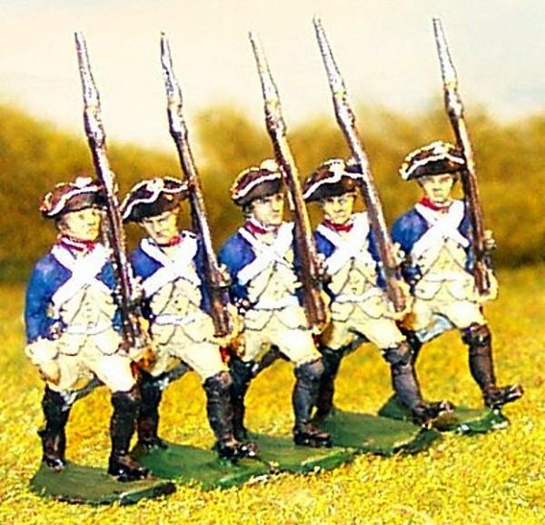 Preußische Musketiere (marschierend)
