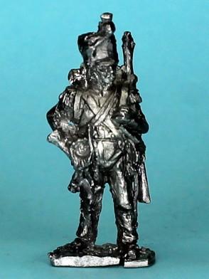 Französischer Voltigeur - Hornist (1807 - 1814)