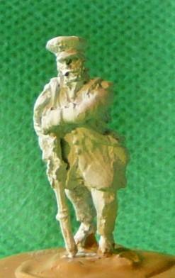 Preußische Landwehr-Soldaten verwundet (1813 - 1815)