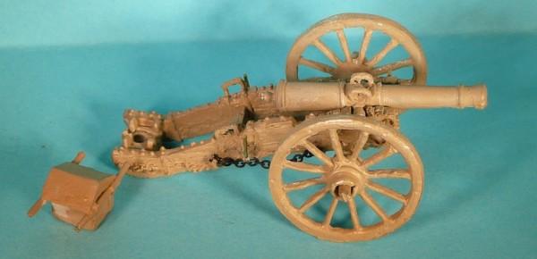 Französische 8-Pfund-Kanone (nach dem Gribeauval-System)