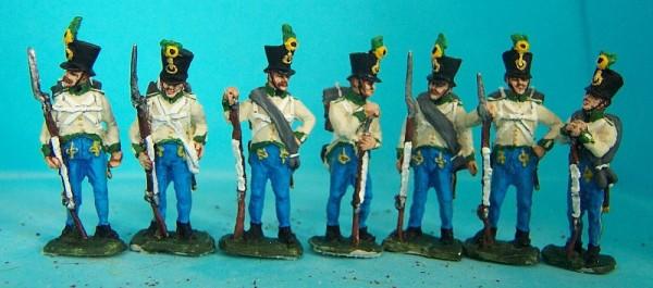 Österreichische-Ungarische Infanterie - Füsiliere  (1805 - 1815)