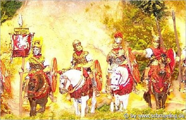 Römische Kavallerie - Command Set