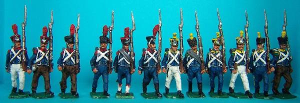 Französische Leichte Infanterie - Elitekompanie