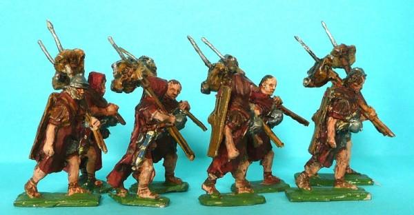 Römische Legionäre mit Paenula