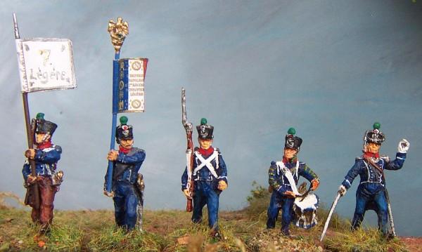 Französische Leichte Infanterie - Command Set (1812 - 1815)