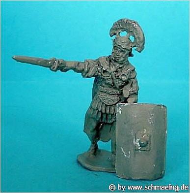 Römischer Centurio (mit gezogenem Gladius)