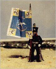 Braunschweiger Linieninfanterie - Offizier (ohne Fahne)
