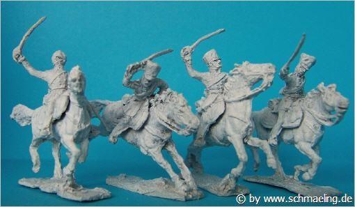 Preußische Dragoner (im Angriff)