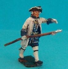 Französische Linieninfanterie - Offizier (1740 - 1762)