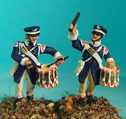 Preußische Landwehr - Trommlerjungen (1813 - 1815)