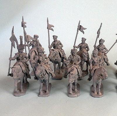 Ostpreußisches National-Kavallerie-Regiment-Set (1813 - 1814)