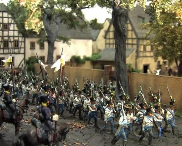 Österreichische-Ungarische Soldaten der Infanterie (1805 - 1815)