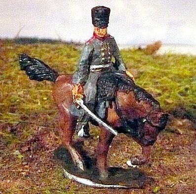 Preußischer Offizier im Mantel (1808 - 1815)