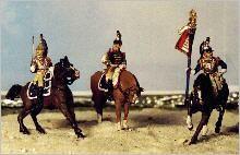 Französische Kürassiere - Command Set