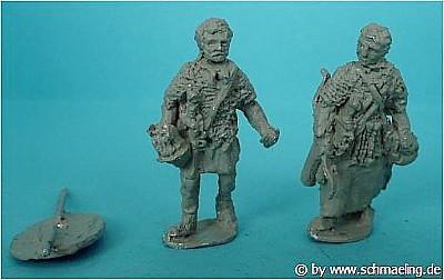 Römische Legionäre -  Auxiliar-Infanterist und Syrischer Bogenschütze