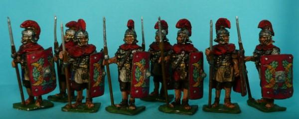 Römische Legionäre im Kettenhemd