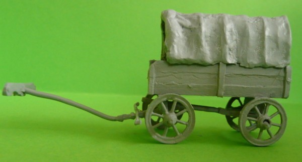 Großer römischer Bagagewagen