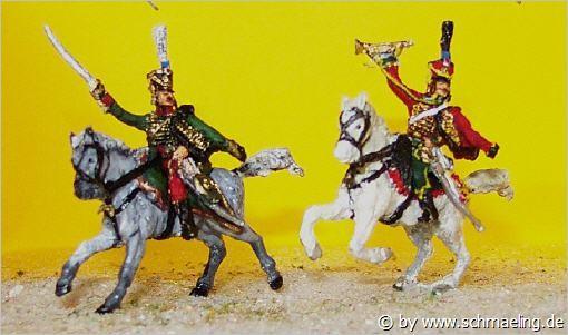 Französische Husaren - Command Set (1805 - 1815)