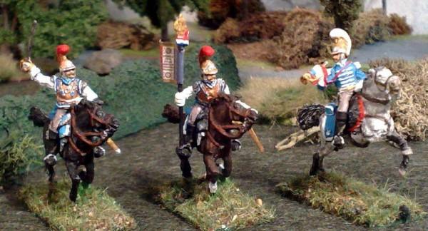 Französische Karabiniers - Command Set (1812 - 1815)