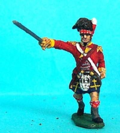 Schottische Infanterie - Offizier (1815)