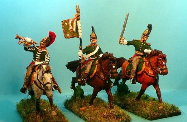 Russische Dragoner - Command Set (1812 - 1815)