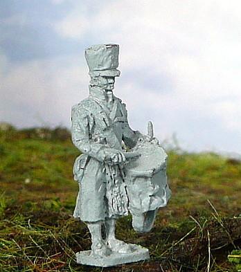 Preußischer Trommler im Mantel (1808 -1815)