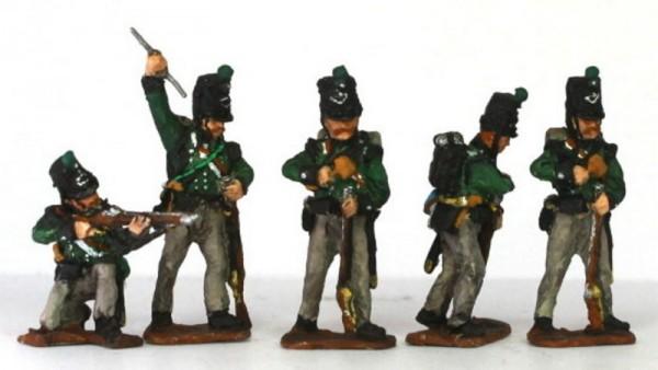 King German Legion (1815) im Kampf