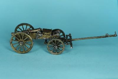 Französische 8-Pfund-Kanone mit Protze (1770 - 1815)