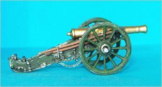 Französische 12-Pfund-Kanone (nach dem Marmont-System)