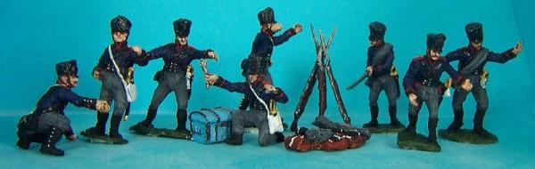 Preußische Fußartillerie - Instandsetzungsmannschaft (1808 - 1815)