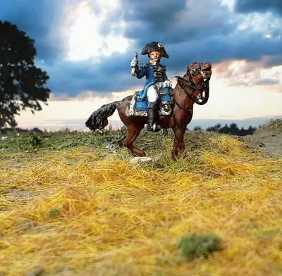 1805 - 1815: Französischer Adjutant-Kommandant der Linie (zu Pferd)