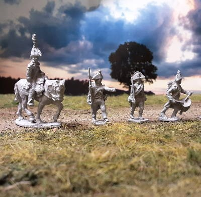 1800 - 1807: Französische Linieninfanterie - Command Set