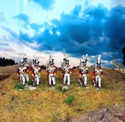 1810 - 1813: Königreich Sachsen - Leib-Grenadier-Garde