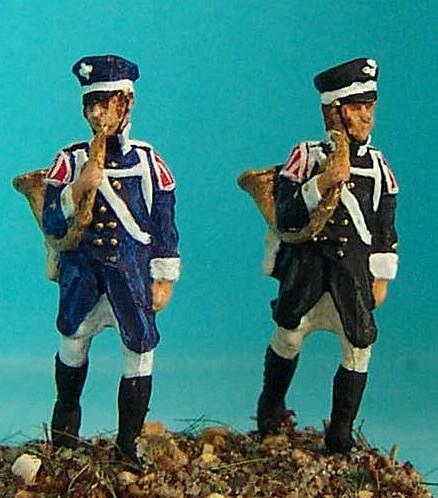 Preußische Landwehr - Hornbläser (1813 - 1815)
