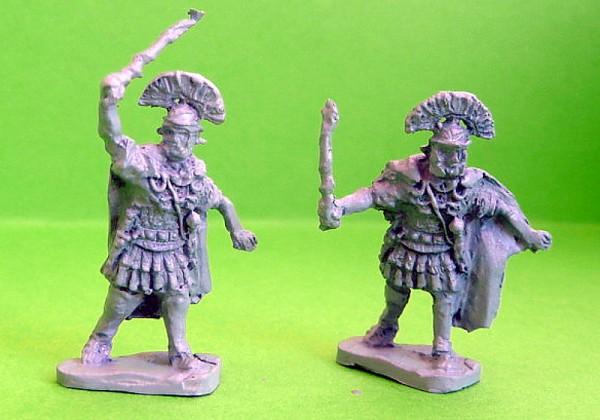 1 - 2 AD: Römische Centurionen (zuschlagend)