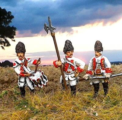 174ß - 1763: Österreichische Grenadiere - Command Set