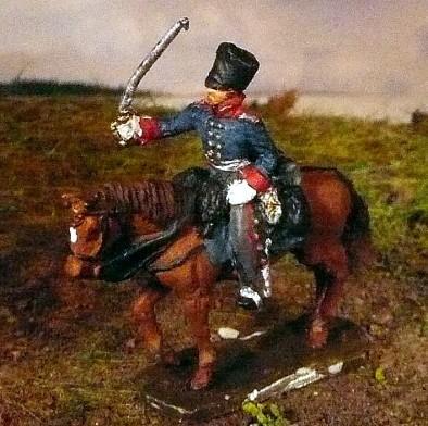 Preußischer Offizier in Felduniform (1808 - 1815)