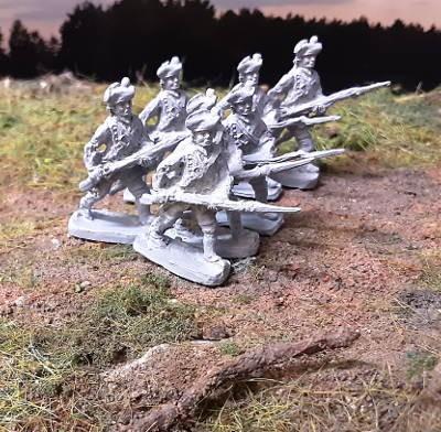 1756 - 1763: Königreich Hannover - Infanterie