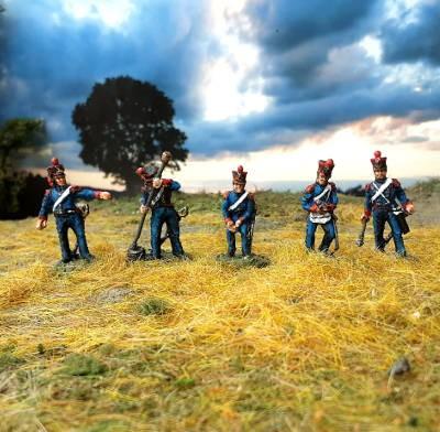 1813 - 1815: Französische reitende Linienartillerie