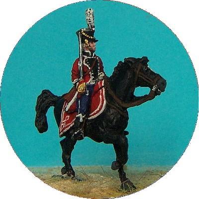 Dänische Linieninfanterie - Oberst zu Pferd (1812 - 1814)