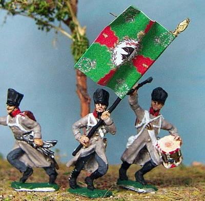Preußische Linieninfanterie - Command Set(1813 - 1815)