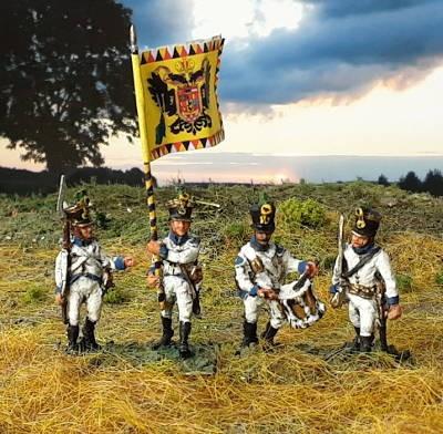 1813 - 1815: Deutsch-Österreichische Linieninfanterie - Command Set